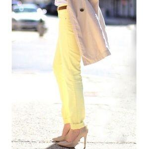 Yellow Calvin Klein Jeans
